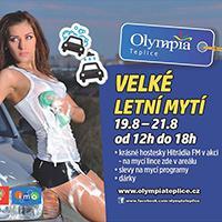 Velké letní mytí probíhá v OC Olympia Teplice