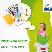 """Akce """"Zpátky do školy"""" v OC Nisa Liberec"""