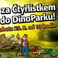 Čtyřlístek navštíví DinoPark v OC Liberec Plaza