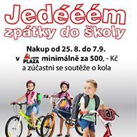 NG Liberec Plaza pořádá soutěž o jízdní kola