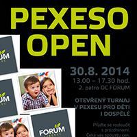 Pexeso Open v OC Forum Liberec