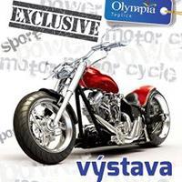 Výstava motocyklů v Olympii Teplice