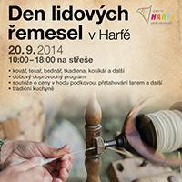Galerie Harfa pořádá den plný lidových řemesel