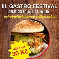 3. Gastro festival v NC Liberec Plaza