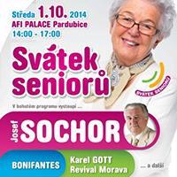 Oslavte Mezinárodní den Seniorů v Afi Paláci