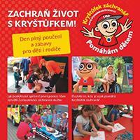 """""""Zachraň život s Kryštůfkem"""" v NC Géčko České Budějovice"""