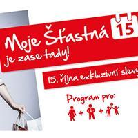 Moje šťastná 15 opět v Avion Shopping Park Ostrava