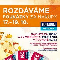 Futurum Ostrava rozdává dárkové poukázky