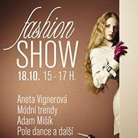 Podzimní fashion show v OC Fontána