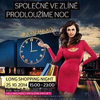 LONG SHOPPING NIGHT ve Zlatém jablku