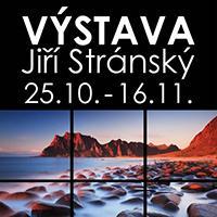 Výstava obrazů Jiřího Stránského v OC Fontána