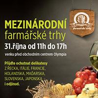 Mezinárodní farmářské trhy v Olympii Teplice