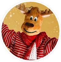 Vánoční fotokoutek v OC Arkády Pankrác