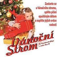 Vánoční strom rádia Kiss 98 již zkrášluje Novodvorskou Plazu
