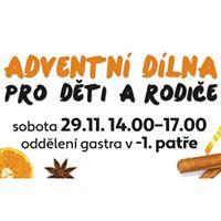 Adventní dílny v DBK Praha
