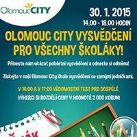 Za pololetní vysvědčení odměna v Olomouc City
