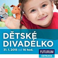 Lednové sobotní divadélko v OC Futurum Ostrava