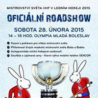 ROAD SHOW k MS v hokeji 2015 v Olympii Mladá Boleslav