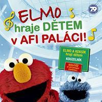 Elmo potěší děti v OC AFI Palace
