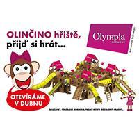 Olinčino dětské hřiště v OC Olympia Olomouc