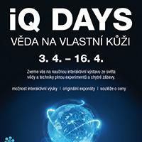 iQ DAYS - VĚDA NA VLASTNÍ KŮŽI ve Foru Liberec