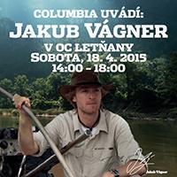 Jakub Vágner si zarybaří v OC Letňany