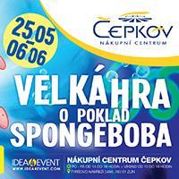 Velká hra o poklad SPONGE BOBA v NC Čepkov