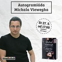 Autogramiáda Michala Viewegha v OC PALÁC Pardubice