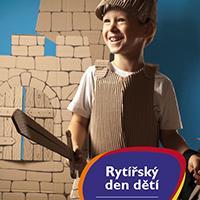 Rytířský den dětí v Galerii Butovice
