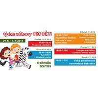 OD Elán vyhlašuje týden zábavy pro děti