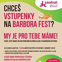 Soutěžte o vstupenky na BARBORA FEST