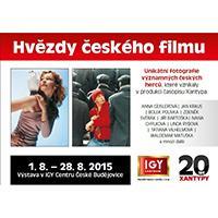 Výstava Hvězdy českého filmu v IGY Centru