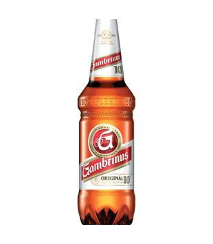 Gambrinus 10° Originál, světlé výčepní pivo, 1,5 l PET