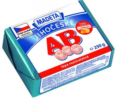 Jihočeské AB máslo