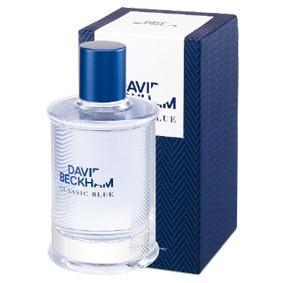 David Beckham Classic Blue, voda po holení