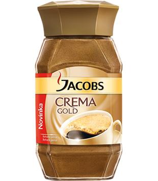 instantní káva Jacobs Crema Gold