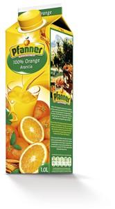 Pfanner džus 100% 1l, vybrané druhy