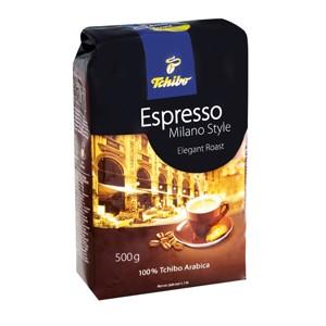 Tchibo Espresso 500g, vybrané druhy