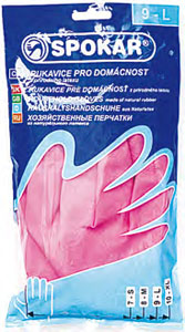 Spokar Gumové úklidové rukavice