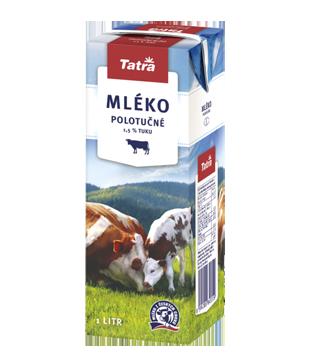 Tatra trvanlivé mléko polotučné 1,5 %