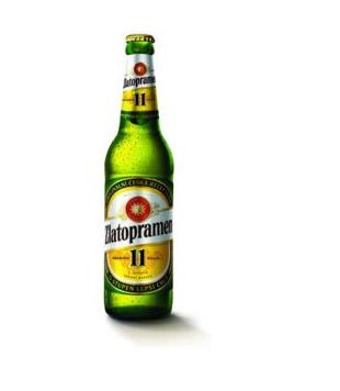 Zlatopramen 11°, světlé výčepní pivo 0,5l