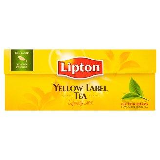Lipton čaj černý čaj, vybrané druhy 25 sáčků