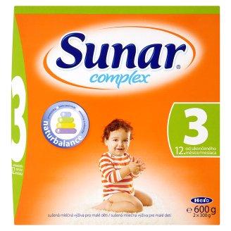 Sunar Complex dětská kojenecká výživa, vybrané druhy Albert