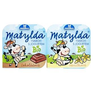 Milko Matylda Bio tvaroh s jogurtem 110g, vybrané druhy