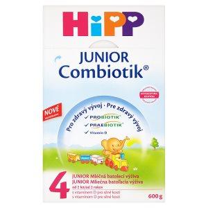 HiPP 4 JUNIOR combiotik mléčná batolecí výživa od 2 let 600g