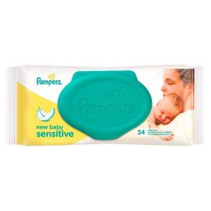 Pampers Sensitive New Baby čisticí ubrousky 54 ks Rossmann