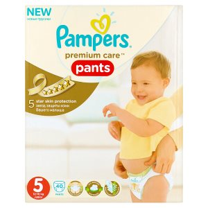Pampers Premium care Jednorázové plenkové kalhotky 5 junior 40 ks Dm Drogerie Markt