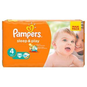 Pampers Sleep&Play Pleny 4 Maxi 50 ks Kaufland