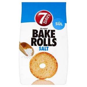 7 Days Bake Rolls, vybrané druhy
