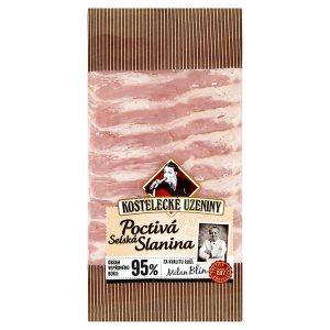 Kostelecké Uzeniny Poctivá selská slanina 0,100kg
